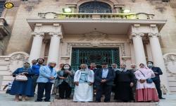 كلية الفنون الجميلة تحتفى بالاستاذ الدكتور / مصطفى عبد المعطى بمناسبة حصوله على جائزة النيل فى الفنون