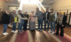 The Faculty of Fine Arts, Alexandria University gets second place in the reception of new students for the academic year 2019-2020